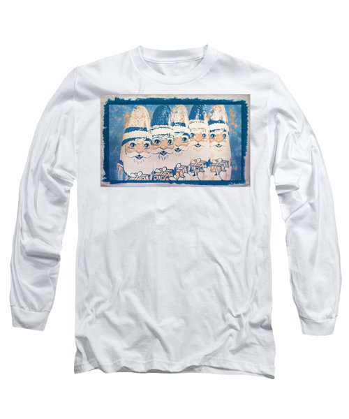 Long Sleeve T-Shirt featuring the photograph Chocolate Santas by Bellesouth Studio