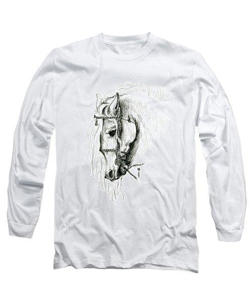 Chomping At Bit - Sketch1 Long Sleeve T-Shirt
