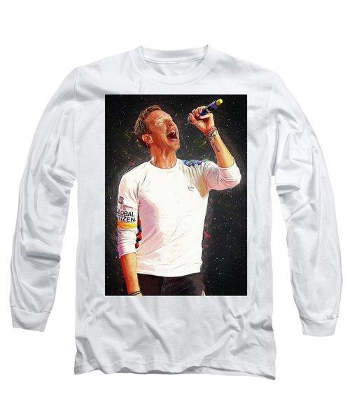 Chris Martin - Coldplay Long Sleeve T-Shirt
