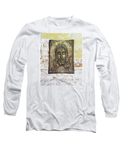 #christ #christians #religion #face Long Sleeve T-Shirt