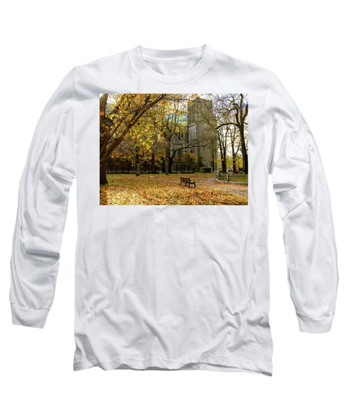 Christchurch Cathedral Long Sleeve T-Shirt by Keith Boone