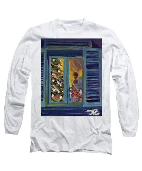 Christmas 2016 Long Sleeve T-Shirt by Julie Todd-Cundiff