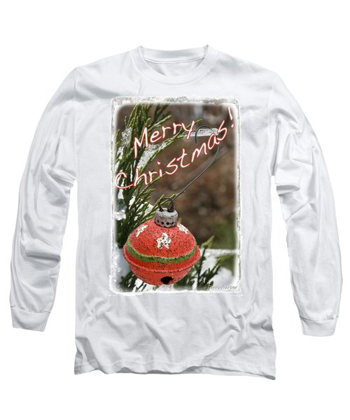 Christmas Bell Ornament Long Sleeve T-Shirt
