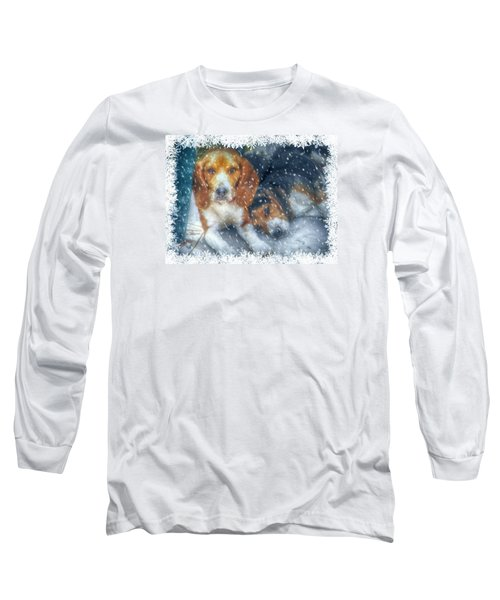 Long Sleeve T-Shirt featuring the photograph Christmas Brothers by Amanda Eberly-Kudamik