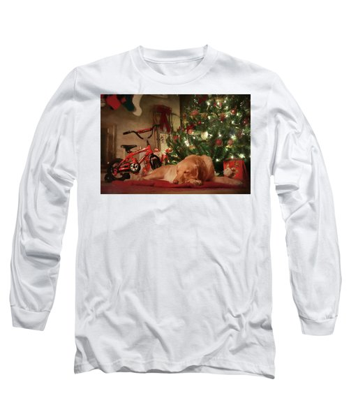 Long Sleeve T-Shirt featuring the photograph Christmas Eve by Lori Deiter
