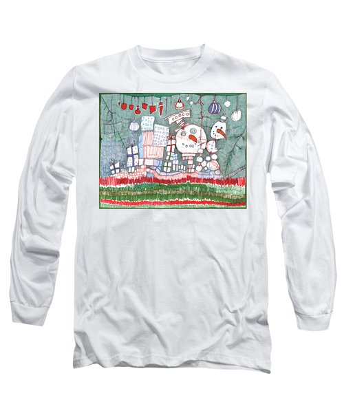 Christmas On The Edge Long Sleeve T-Shirt