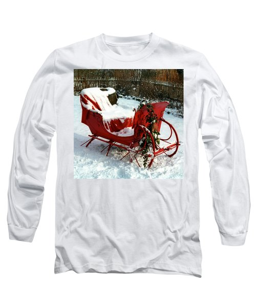 Christmas Sleigh Long Sleeve T-Shirt
