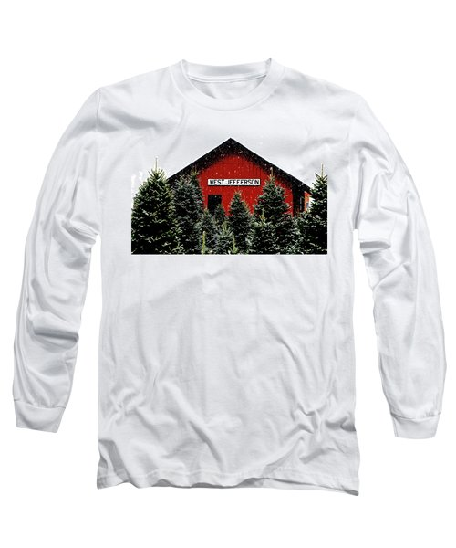 Christmas Town Long Sleeve T-Shirt by Dale R Carlson