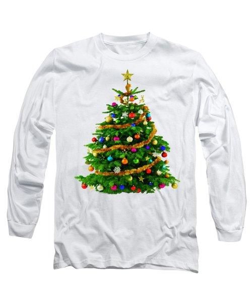 Christmas Tree 1417 Long Sleeve T-Shirt