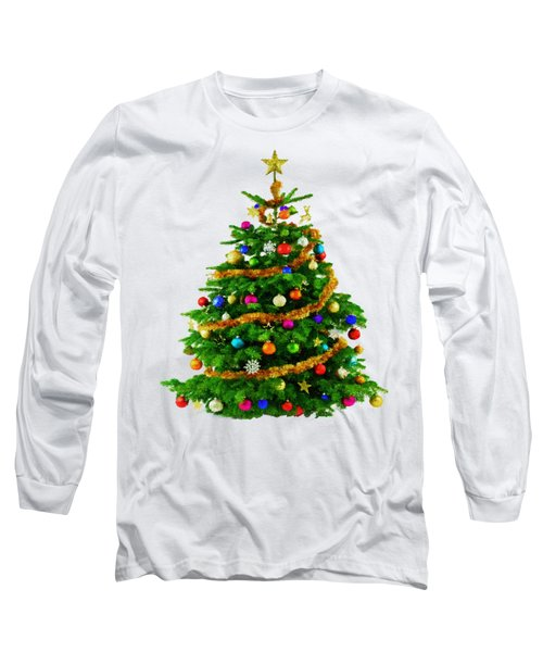 Christmas Tree 1417 Long Sleeve T-Shirt