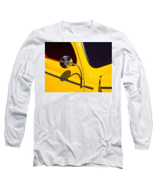 Chrome Mirrored To Yellow Long Sleeve T-Shirt