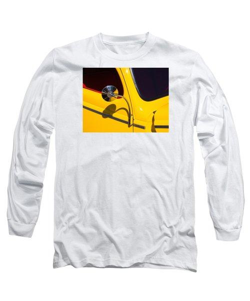 Chrome Mirrored To Yellow Long Sleeve T-Shirt