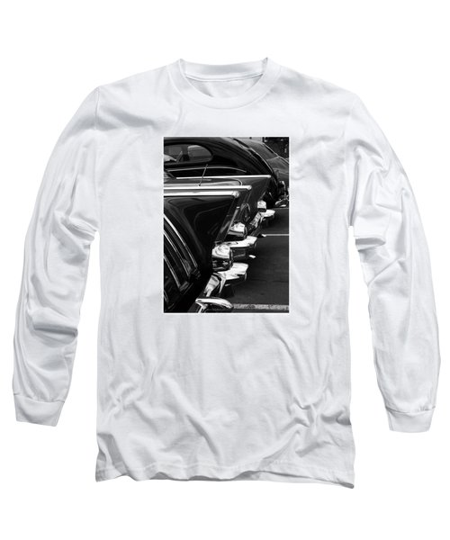 Long Sleeve T-Shirt featuring the photograph Chrome by Steve Godleski
