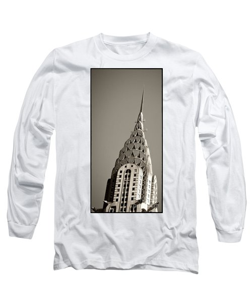 Long Sleeve T-Shirt featuring the photograph Chrysler Building New York City by Juergen Held