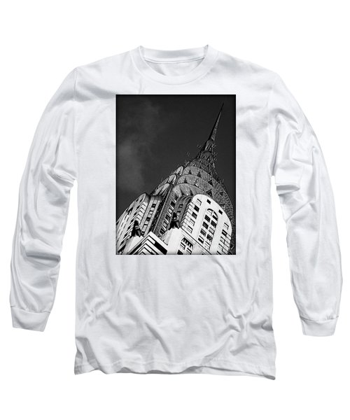 Chrysler Building's Apex Long Sleeve T-Shirt
