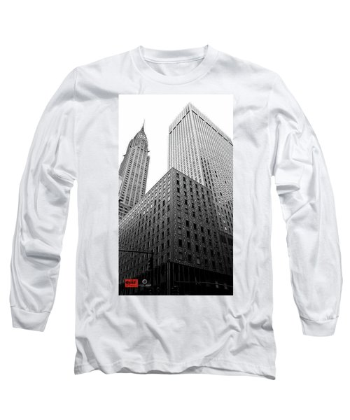Chrystler Lofts Long Sleeve T-Shirt by Rennie RenWah
