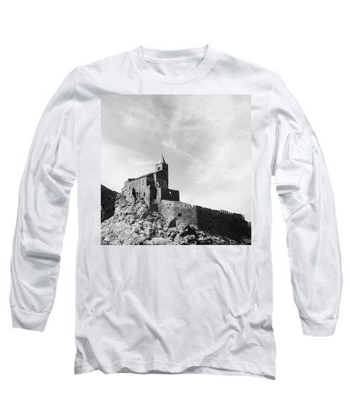 Church Of San Pietro II Long Sleeve T-Shirt by Joseph Westrupp