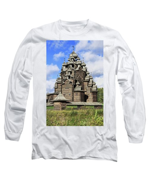 Church Of The Intercession Of The Blessed Virgin Mary, A Unique Monument Of Church Architecture Of A Long Sleeve T-Shirt