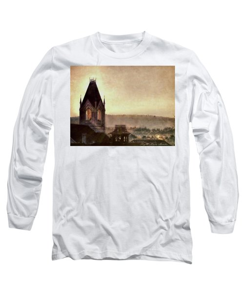 Church Steeple 4 For Cup Long Sleeve T-Shirt