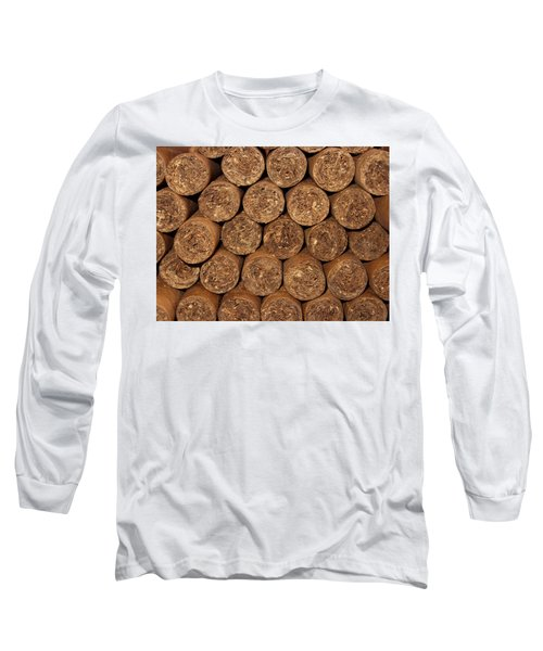 Cigars 262 Long Sleeve T-Shirt by Michael Fryd