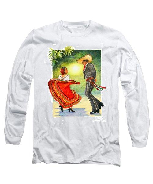 Cinco De Mayo Dancers Long Sleeve T-Shirt