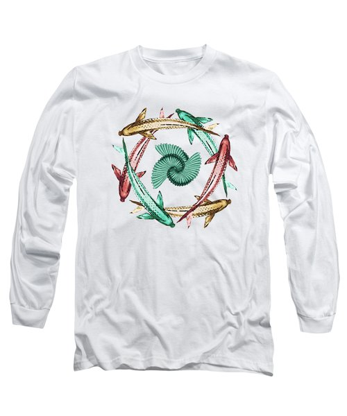 Circle Long Sleeve T-Shirt by Deborah Smith