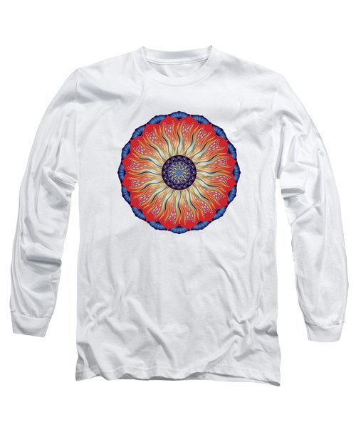 Circularium No. 2627 Long Sleeve T-Shirt by Alan Bennington