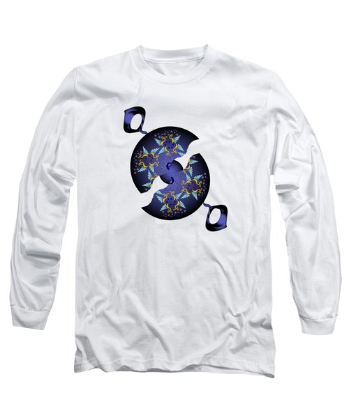 Circularium No 2634 Long Sleeve T-Shirt by Alan Bennington