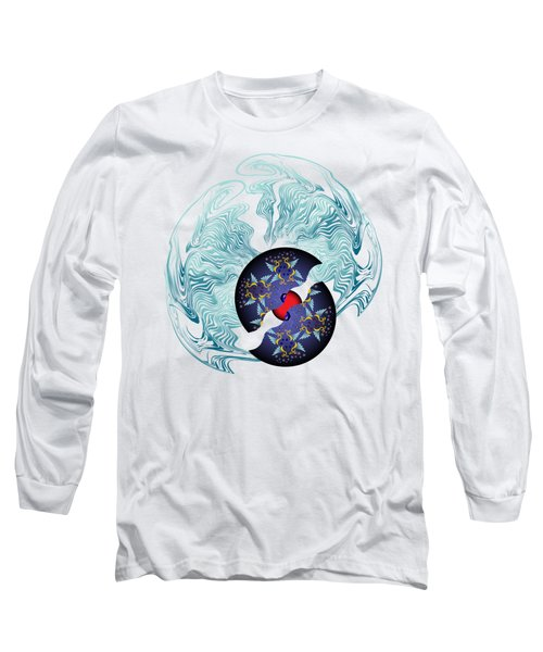 Circularium No 2635 Long Sleeve T-Shirt by Alan Bennington