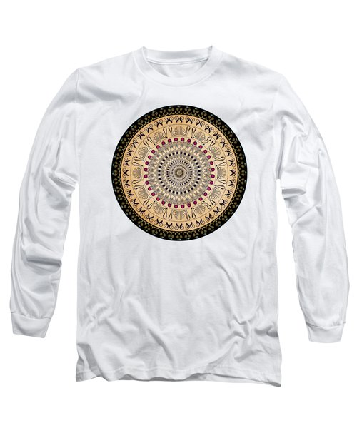 Circularium No 2637 Long Sleeve T-Shirt by Alan Bennington