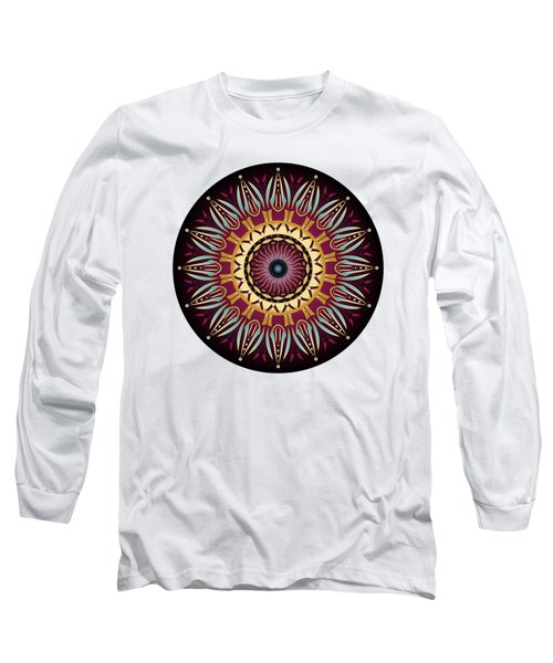 Circularium No 2639 Long Sleeve T-Shirt by Alan Bennington