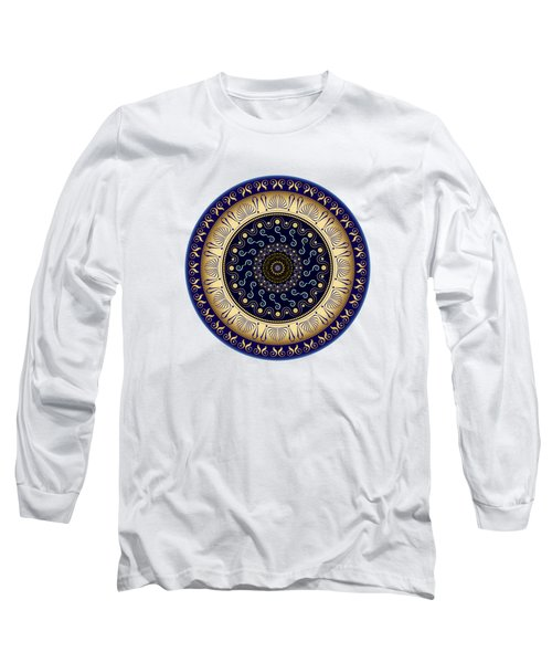 Circularium No 2648 Long Sleeve T-Shirt by Alan Bennington