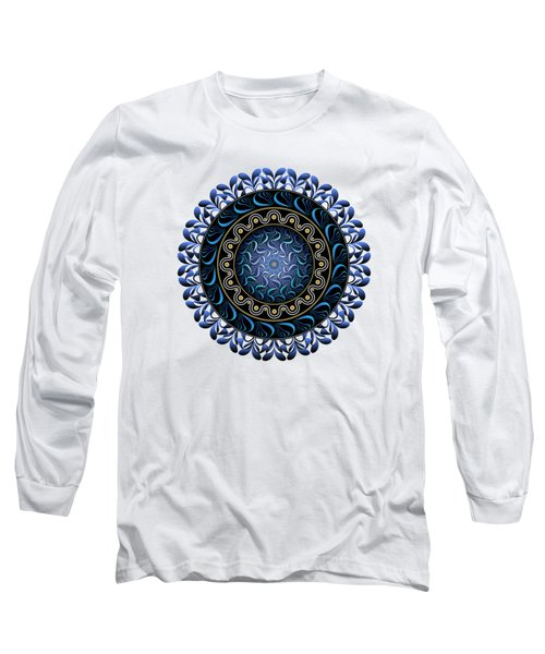 Circularium No 2657 Long Sleeve T-Shirt by Alan Bennington