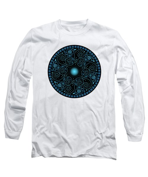 Circularium No 2705 Long Sleeve T-Shirt by Alan Bennington