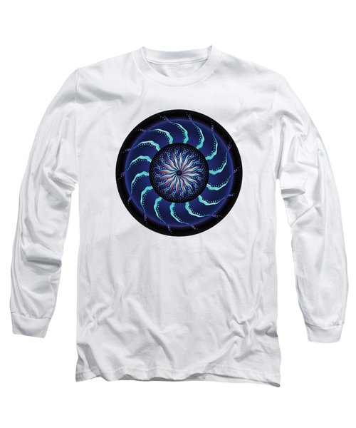 Circularium No 2711 Long Sleeve T-Shirt by Alan Bennington