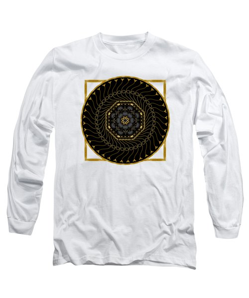 Circularium No 2712 Long Sleeve T-Shirt by Alan Bennington
