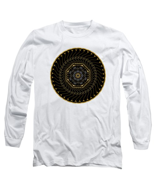 Circularium No 2713 Long Sleeve T-Shirt by Alan Bennington