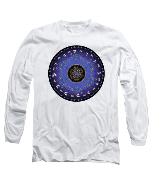 Circularium No 2717 Long Sleeve T-Shirt by Alan Bennington