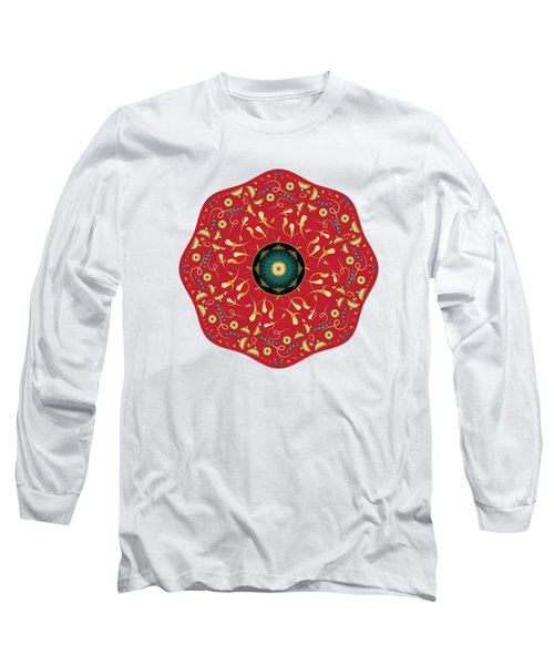 Circularium No. 2736 Long Sleeve T-Shirt