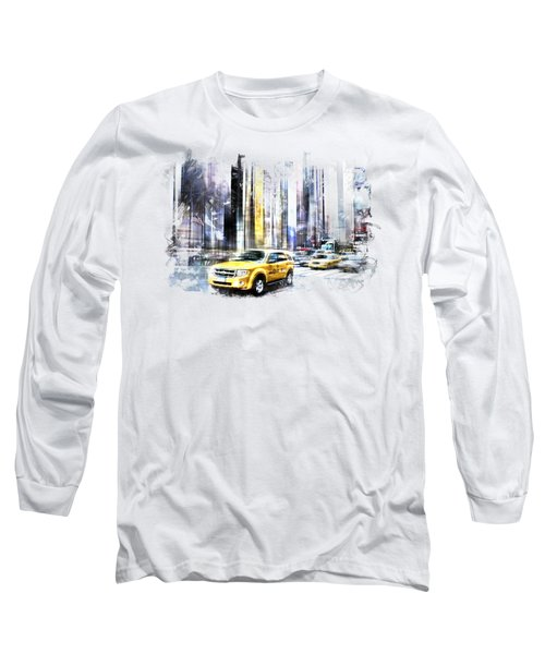 City-art Times Square II Long Sleeve T-Shirt