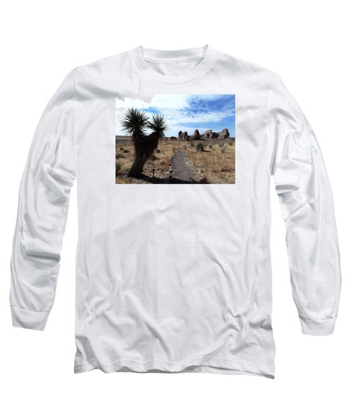 City Of Rocks - New Mexico Long Sleeve T-Shirt