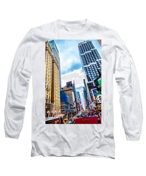 City Sights Nyc Long Sleeve T-Shirt