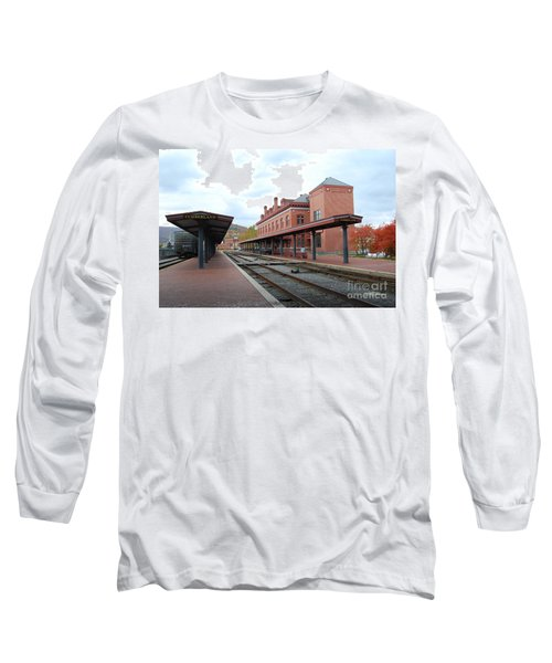 City Station Long Sleeve T-Shirt by Eric Liller