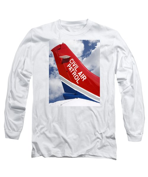 Civil Air Patrol Aircraft Long Sleeve T-Shirt