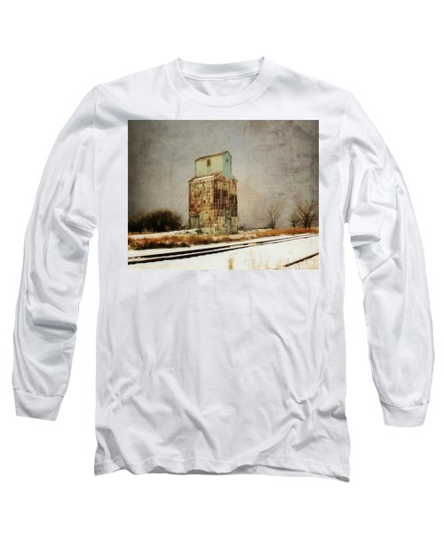 Clare Elevator Long Sleeve T-Shirt by Julie Hamilton