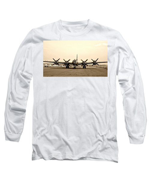 Classic B-29 Bomber Aircraft Long Sleeve T-Shirt