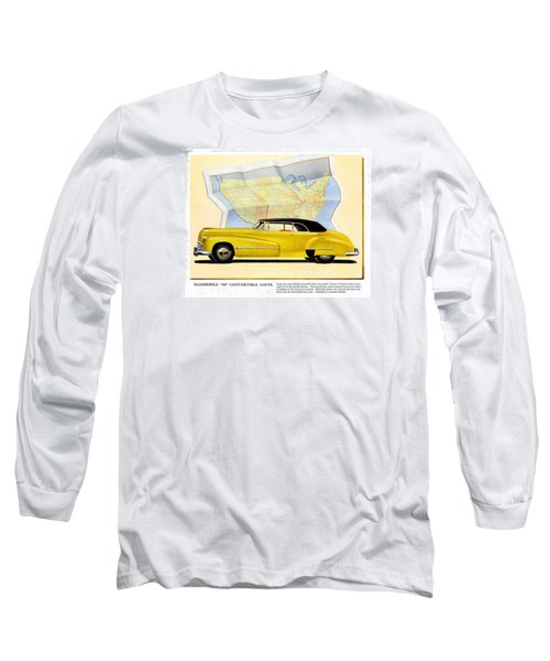 Classic Car Ads Long Sleeve T-Shirt by Allen Beilschmidt