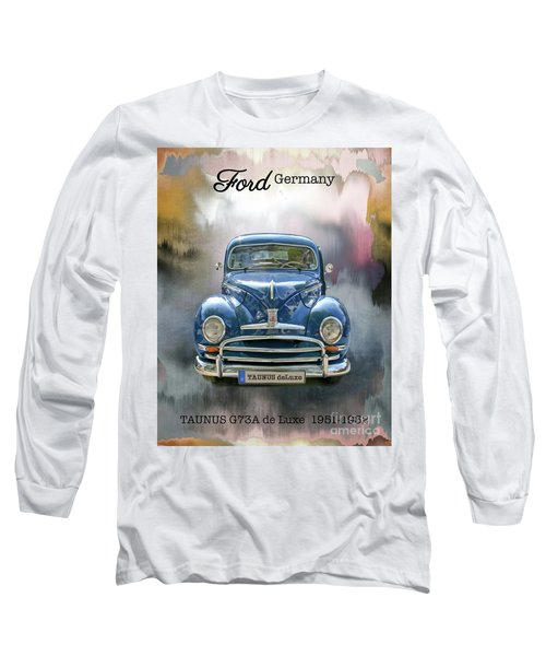 Classic Ford Taunus Deluxe Long Sleeve T-Shirt