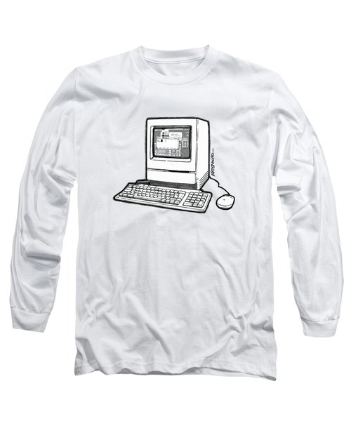 Classic Fruit Box Long Sleeve T-Shirt by Monkey Crisis On Mars