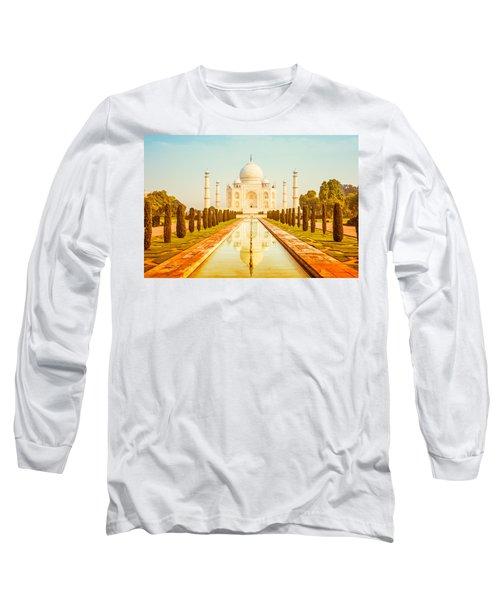Classic Taj Mahal Long Sleeve T-Shirt